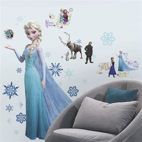 Frozen Wall Decor by Image Elsa Frozen Wall Decal