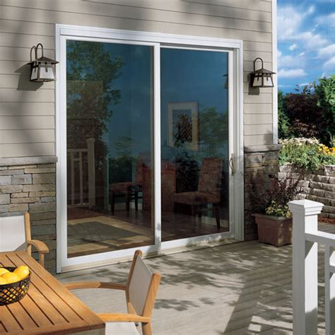 Patio Door With Window Sliding Patio Doors By Marvin