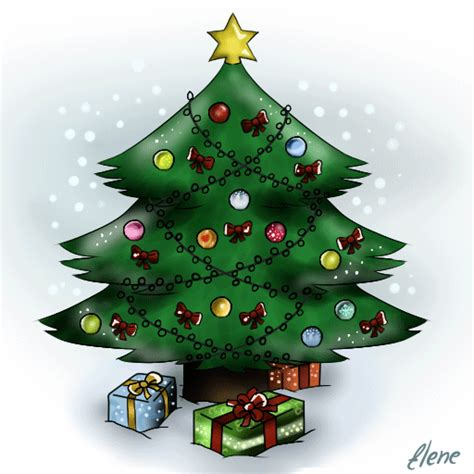 christmas tree animation by xxunicornxx on deviantart