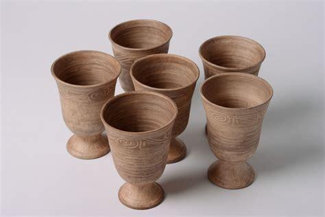Handmade Clay Items - madeheart gt handmade ceramic goblets kilned with milk 6