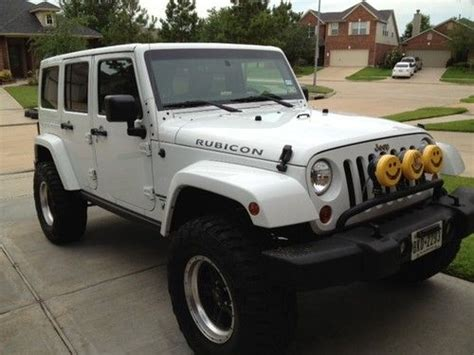 2012 4 Door Jeep Wrangler For Sale Find Used 2012 Jeep Wrangler Unlimited Rubicon Sport