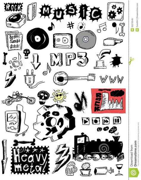 doodlebug song doodle heavy metal rock royalty free stock photo