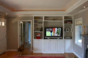 Livingroom Cabinets by Built In Media Cabinet