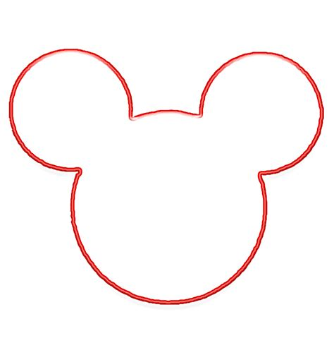 best mickey mouse mickey mouse template clipart best