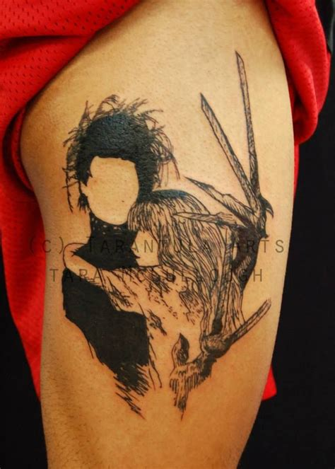 edward scissorhands tattoo 60 best work images on orchid
