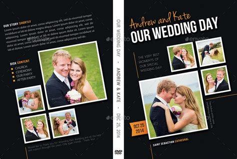 wedding dvd cover template wedding dvd cover template 09 by rapidgraf graphicriver