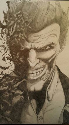 joker tattoo arkham city a pencil drawing of the joker from batman arkham origins