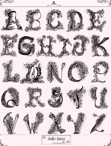 Beautiful Letters