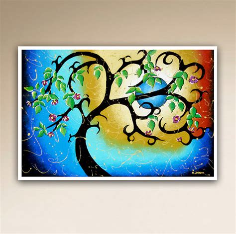 whimsical wall decor tree print blue wall whimsical tree of by