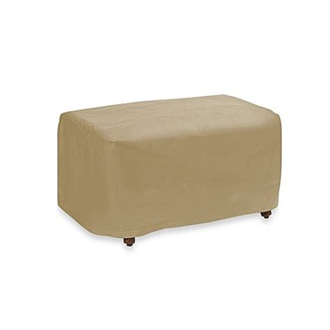 large ottoman covers buy protective covers by adco large ottoman cover from bed