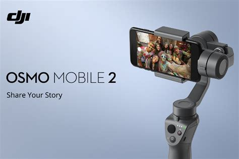 Dji Osmo Mobile Battery dji introduces new osmo mobile 2 gimbal for phones with 3x