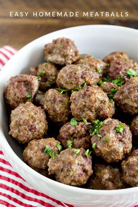 easy meatball recipe lil luna