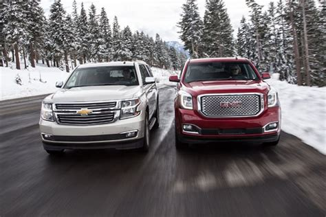 gmc suburban vs chevy suburban chevy suburban vs yukon xl 2017 2018 best cars reviews