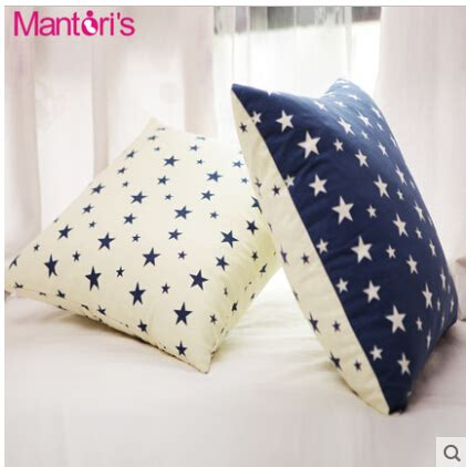 bed pillows for watching tv 100 cotton mediterranean style cushion cushion waist