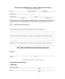 Maternity Leave Application by 41 Sle Student Application Forms