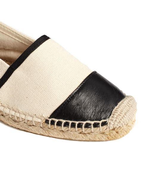 kurt geiger flat shoes kg by kurt geiger espadrille flat shoes in black