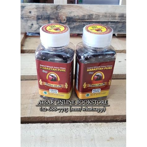 Minyak Goreng Cap Kuda habbatus sauda 120 kapsul minyak cap kuda arab