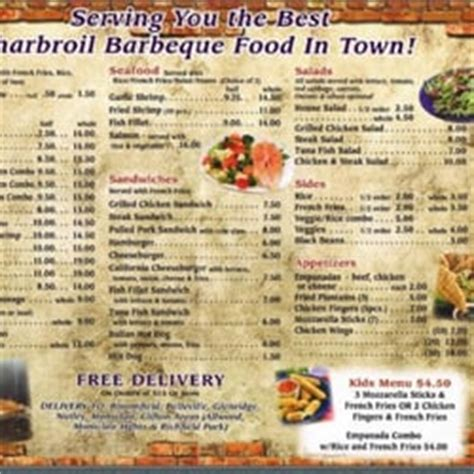 pit restaurant menu the pit barbeque barbeque bloomfield nj reviews