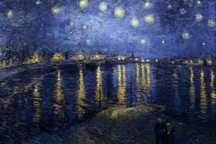 starry night over the rhone artble com