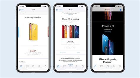 apple store อ ปเดตใหม เตร ยมพร ออเดอร iphone xr ในกล มประเทศแรก