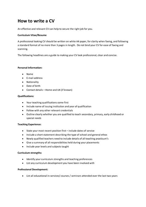 how can i do my resume free resume ideas