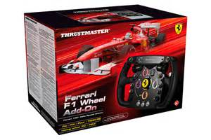 F1 Steering Wheels For Pc Simulations Thrustmaster F1 Wheel Add On For Pc And Ps3 Playseat