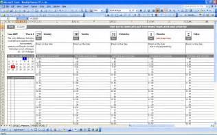 2 Week Schedule Template Excel by Maintenance Schedule Template Schedule Template Free