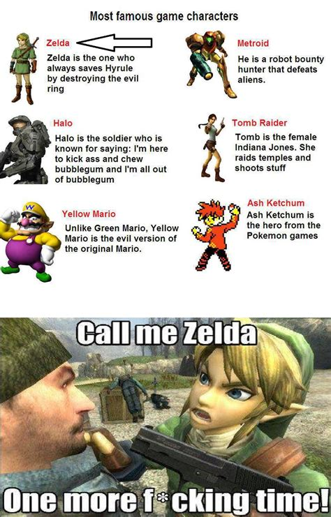 Funny Link Memes - image 574470 the legend of zelda know your meme