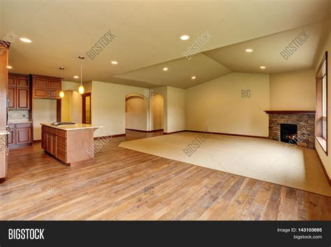 how to fill an empty kitchen wall living room ideas open floor plan empty living room image photo bigstock