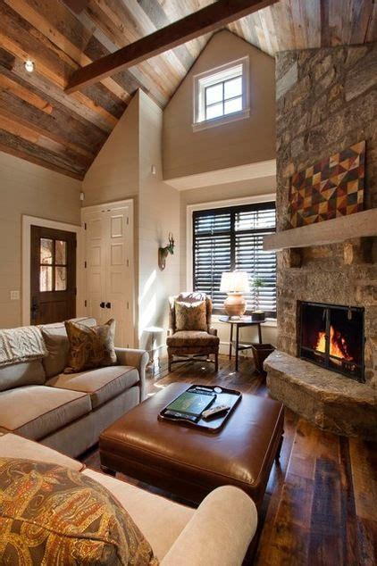 Living Room Inc by Rustic Living Room By Keefe Builders Inc This