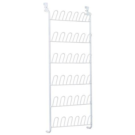 shop closetmaid white wire shoe shelf kit at lowes