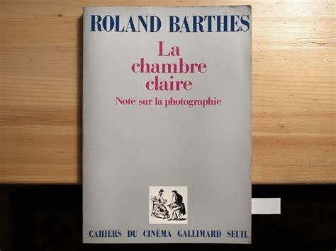la chambre barthes jlggbblog2 183 de la biblioth 232 que la chambre 1980
