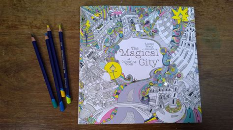 libro the magical city magical the magical city walk through of the colouring pages youtube