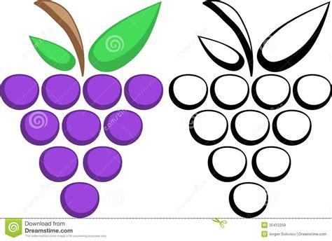 imagenes de uvas para recortar simboli dell uva immagini stock libere da diritti