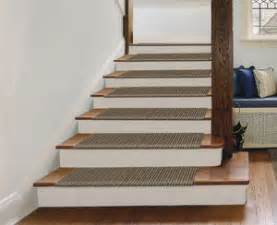 How To Install Carpet Treads On Stairs by Innovative Diy Stair Tread Product Available Direct Diy
