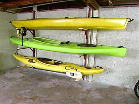 Kayak Storage Rack Diy by Kayak Rack Diy