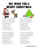 testo we wish you a merry chipmunk song lyrics songs