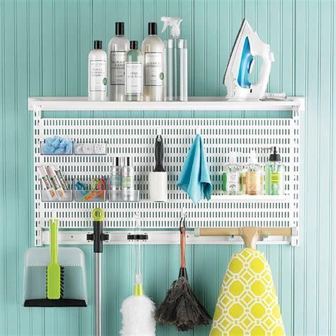 elfa laundry white elfa utility laundry cleaning center the