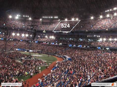 section 123 rogers centre rogers centre concert seating chart interactive map