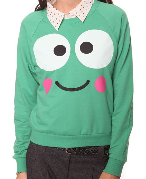 Jaket Sweater Keroppi Hoodie really tempted to buy this for morning i don t