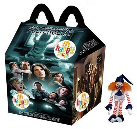 killer toys horror poltergeist happy meal horror themed food products
