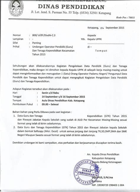 surat undangan dinas tentang kegiatan di sekolah 100 images surat