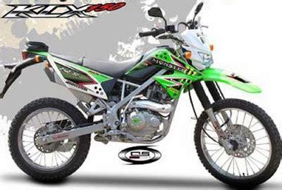 Striping Kawasaki Klx 150 Hijau Zied jual striping kawasaki klx 150 exclusive jual striping motor
