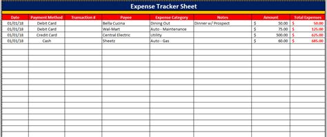 spreadsheet template expenditure spreadsheet template budget templates