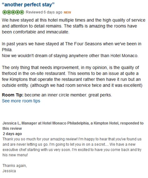 Response Letter For Hotel Accommodation How To Approach Responding To Negative Reviews