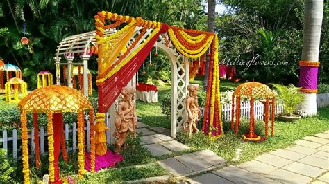 Flowers Wedding Decorations by How To Choose The Theme Marriage Decoration For
