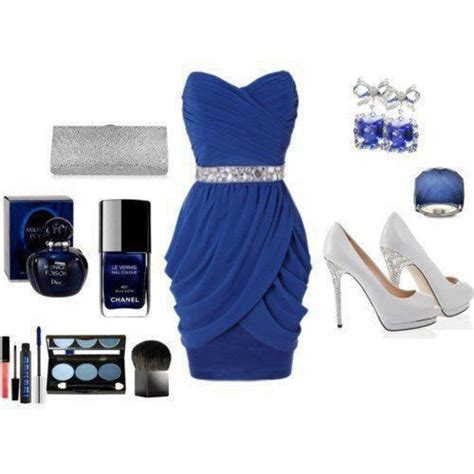 royal blue cocktail dress and accessories clothing