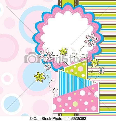 template birthday card illustrator vectors of template greeting card vector illustration