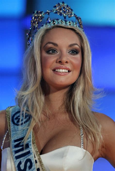 Tatana Kucharova Miss Crowned Miss World 2006 Pageant 2 by Miss World 2011 Wants To Work With What Are The Past