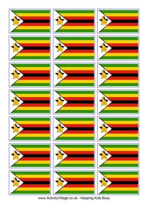 printable images of great zimbabwe zimbabwe flag printables